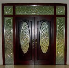 Front Door Glass Designs Interesting Front Doors With Glass To Decorating Ideas