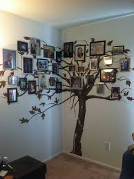the family tree i had painted on my wall just finished hanging