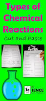 printables types of chemical reactions worksheet answers of