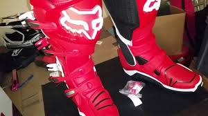 fox instinct motocross boots first look at the fox instinct boot 1 2 youtube