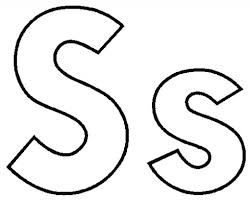 letter s coloring page letter s is for star coloring page free