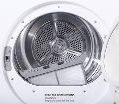 Clothes Dryer Filter Samsung Dv80f5e5hgw 8kg Heat Pump Dryer Appliances Online
