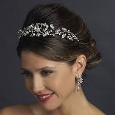 wedding hair accessories wedding hair accessories bridal crown made with crystals flower