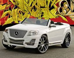 2008 mercedes glk350 mercedes glk 350 sema convertible boulevard customs mercedes