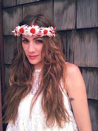 hippie flower headbands 19 best flower bands images on floral headbands