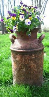Old Milk Can Decorating Ideas Tons Of Outdoor Decorating Inspiration From Little Brags Great
