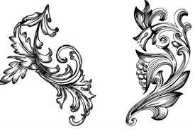handy roundup of free vector ornaments flourishes designerbooster