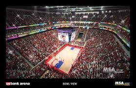 Key Arena Floor Plan U S Bank Arena A New Vision