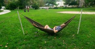 free standing portable hammock stand 8 steps with pictures