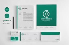 coorporate design corporate identity stationery templates creative market