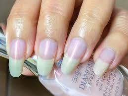 sally hansen nail polish diamond strength brilliant blush