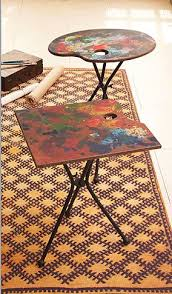 Drafting Table Hobby Lobby Tozai Home Artist Palette Folding Tables Coffee Tables Side