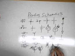 reading schematic symbols in electronics youtube