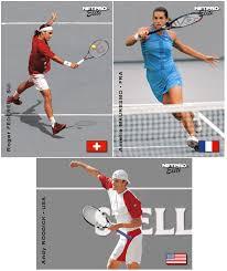 creative tennis memorabilia ut