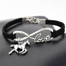 fashion charm bracelet images Fashion silver love horse charm bracelets for horse lovers jpg