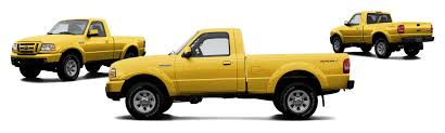 Yellow Ford Ranger Truck - 2007 ford ranger sport 2dr regular cab sb research groovecar