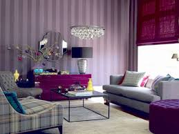 purple livingroom living room gray and purple grey plum furniture modern colors walls