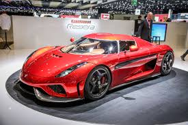koenigsegg regera watch a crash test video of the hypercar fortune