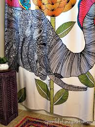 my bathroom design inspiration deny designs shower curtain