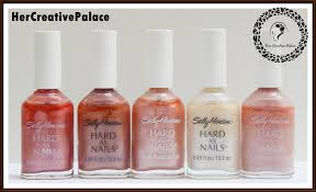 sally hansen hard as nails nail polish set review notd u2013 her