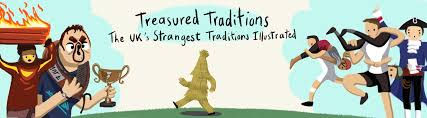 treasured traditions the uk s strangest traditions illustrated