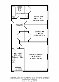 floor plan for 2 bedroom house india