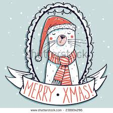 funny christmas cat card stock images royalty free images