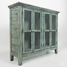 accent cabinet with glass doors jofran 1615 48 rustic shores surfside 48 accent cabinet in