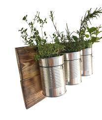 Wall Planters Indoor by Rustic Wall Planter Indoor Hanging Planter Indoor Herb