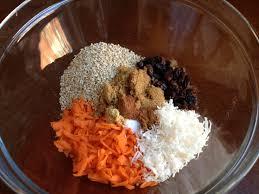 carrot cake oatmeal my favorite things
