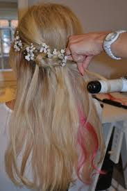wedding hairstyles for medium length hair 2012 half up half down wedding hair for brides and bridesmaids half up