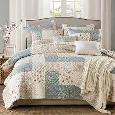 chausub korean coverlet washed cotton quilt set 3pcs quilted