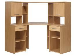 bureau d angle en bois meuble rangement papier conforama 7 armoire de bureau dangle