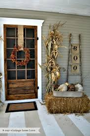 Pinterest Fall Decorations For The Home Fall Front Door Decor Ideas The Garden Glove