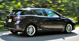 review 2012 lexus ct 200h offers pleasing fuel economy with a