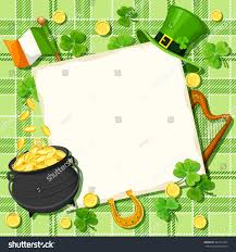 vector st patricks day card pot stock vector 385417444 shutterstock