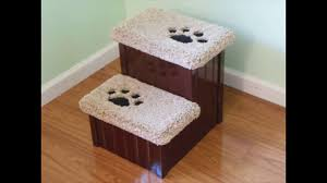 doggie steps for bed bulbhead up and under doggy steps dog stairs for bed eclectic