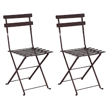 Folding Metal Outdoor Chairs Furniture Designhouse Rectangular European Cafe Folding Table 32