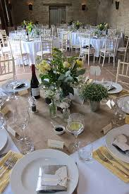 wedding wishes of gloucestershire the table is set at oxleaze barn wedding venue in gloucestershire