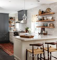 Floating Shelves Kitchen by 30 Kitchens That Dare To Bare All With Open Shelves Galley