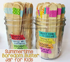 Washi Tape What Is It Washi Tape Summer Boredom Buster Jars While He Was Napping