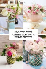 centerpieces for 20 flower centerpieces for a bridal shower shelterness