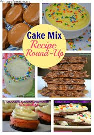 cake mix recipe round up haven u0027t seen some of these before love