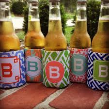 custom wedding koozies haymarket designs personalized wedding coozies