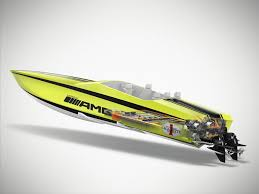 cigarette racing cigarette amg electric drive boat concept inspired by the mercedes