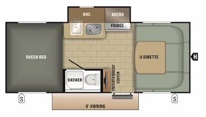 Camper Floor Plans by Our Lightweight Wilderness Travel Trailers Offer 10 Floorplans