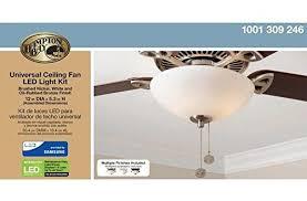 Universal Light Kits For Ceiling Fans Ceiling Fan Led Light Kit For Haiku I Series Black Composite Fans