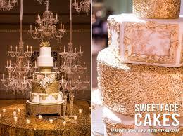 gold u0026 white wedding cake cake by renay zamora cakesdecor