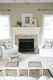 Cool Tone Spring Ready Living Room Tour Elegant Living Room - Furniture for living room design