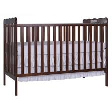 Babi Italia Hamilton Convertible Crib Chocolate by Drop Side Crib Cribs Decoration